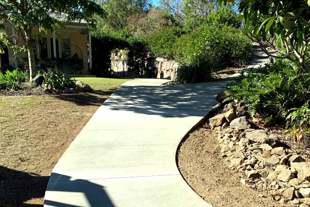 Concrete Path Samford