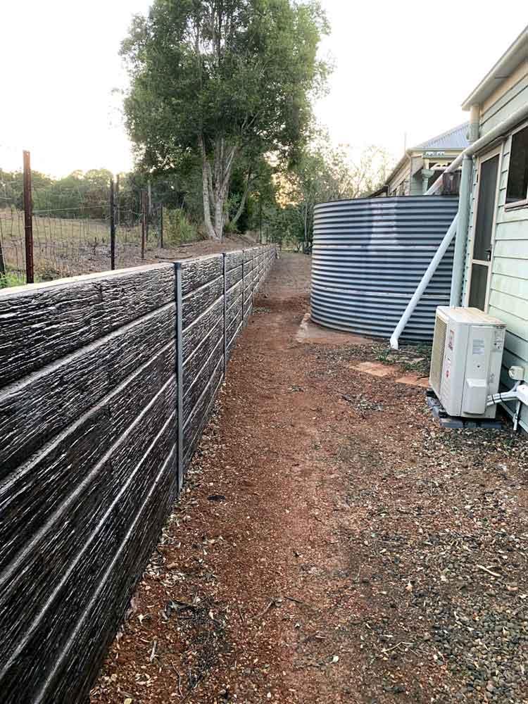 Garden Wall Cedar Creek