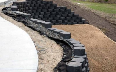 Cedar Creek driveway and path design